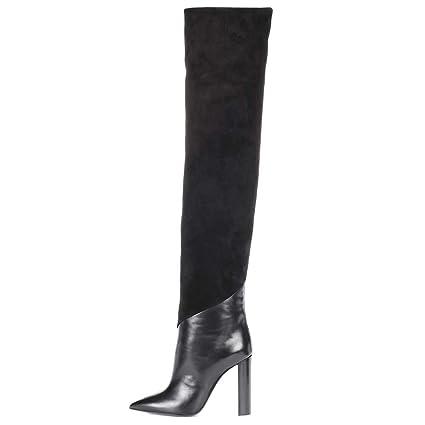 72d9259a169 Amazon.com  Hy Women s Shoes Artificial PU Fall Winter Thick Heel ...