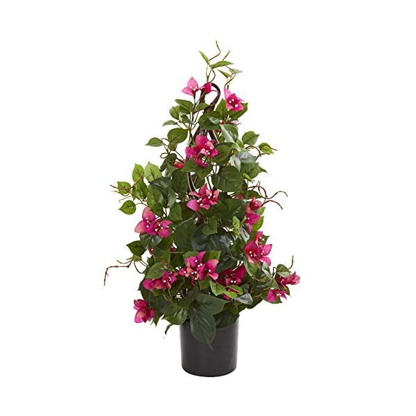 Nearly-Natural-8703-24-Bougainvillea-Artificial-Climbing-Silk-Plants-GreenPink
