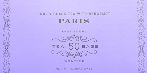 Harney and Sons Tea Bags, Paris, 50 Count (Pack of 2) by Harney & Sons