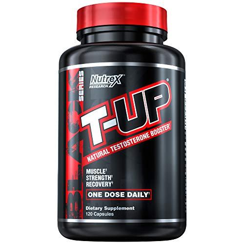 Nutrex Research T-Up   Testosterone & Libido Booster, D-Aspartic Acid, Zinc, B6, B12   120 Capsules