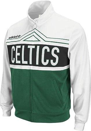 adidas Boston Celtics New Attitude Track Jacket Chaqueta: Amazon ...