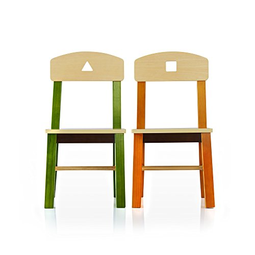 Guidecraft See and Store Table and Chair Set - Kids Furniture, Children's Study Activity Table by Guidecraft (Image #2)'