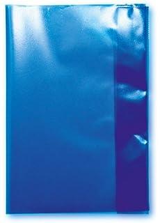 100 Heftumschläge Hefthüllen DIN A4 transparent rot Farbe
