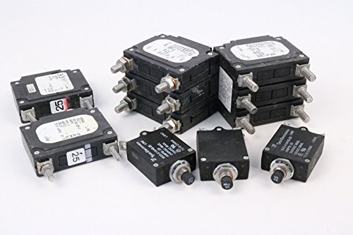 Miscellaneous Circuit Breakers (Lot Of 135+) Various Voltage Amperage Hertz