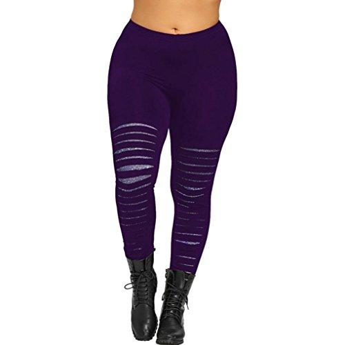 Donna Sportivi Yoga Yoga Taglie Casual Spandex Forti Fitness Opaco Viola Pantaloni Leggins Eleganti Pantaloni Tuta Palestra Donna Up Homebaby Estate Sportivi Leggings Pantaloni Push OxvHEz