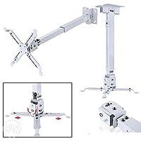 DazzelOn 2(1+1) Feet Universal Projector Ceiling Wall Mount Kit Bracket Upto 15 Kgs