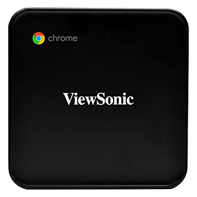 ViewSonic NMP660 Chromebox with Built-in Chrome OS and Google Play Store for Education and Corporate Environments