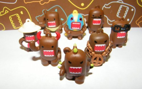 Domo Figure Set of 8 Vending Toys Very Funny