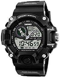 SKMEI S-Shock Sports Waterproof LED Digital Watch (Black) - 2
