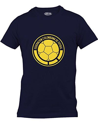 Smart Zone Colombia Shirt Falcao Men's T- Shirt Navy Small