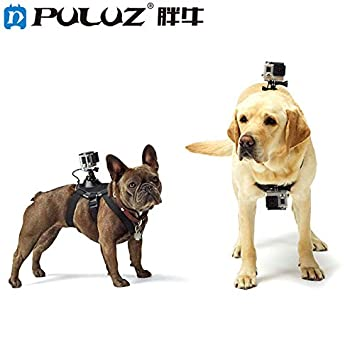 Ocamo PULUZ - Arnés para Perro para GoPro Hero 7, 6, 5, 4, 3 + ...