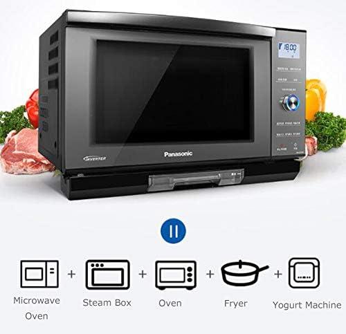 JINRU Intelligent Écran Tactile LCD Inverseur Four À Micro-Ondes 900W Chauffage Rapide Économie D'énergie 27L en Acier Inoxydable Revêtement Four À Convection