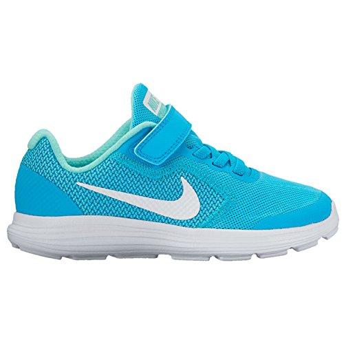psv Pohja Sininen Tyttöjen Tohveli 3 819417 Kenkä 405 sininen Urheilullinen Velcrolla Vallankumous Nike XwPEqvX