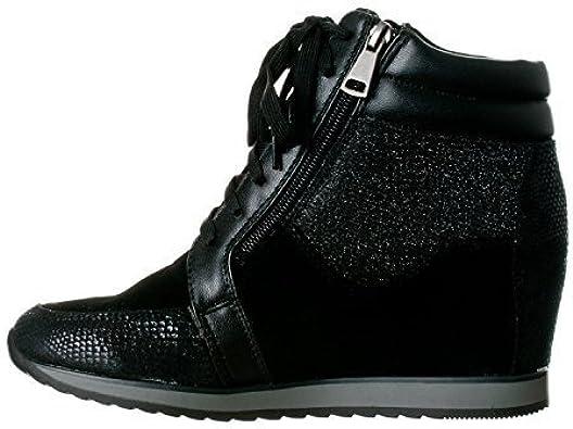 Shea-42 Fashion Wedge Sneakers