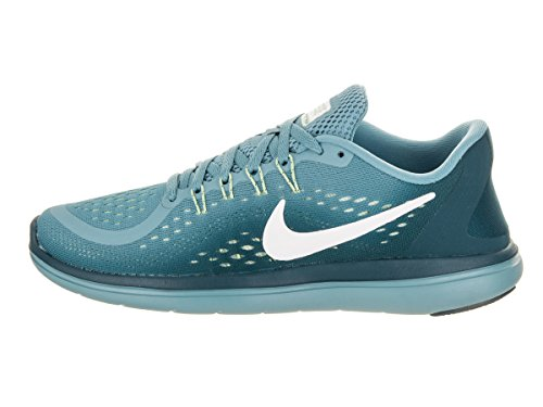 White Women's Running Free Sportive Nike Space Cerullean RN Indoor Scarpe Blue Sense Shoe Donna g6wCCqcPd