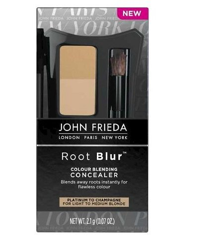 John Frieda Root Blur Instant Root Concealer & Hair Coloring Powder Platinum To Champagne 2.1g (Platinum Root Concealer compare prices)