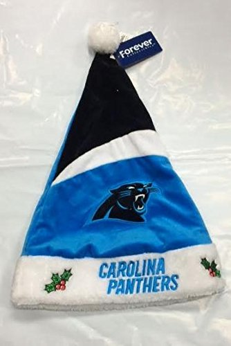 Panthers Hat Santa (Carolina Panthers 2016 Basic Santa Hat)