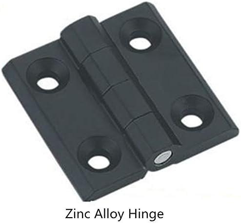 Color: 40x40mm Box Corners of Door of Cupboard of zinc Alloy Rectangular Metal Aluminum Folding Hinge CL218-40 to 50