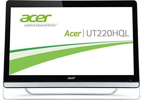 Acer UT220HQLBMJZ 54,6cm (21,5 Zoll) Monitor (VGA, HDMI mit MHL, Touchscreen, 8ms Reaktionszeit) schwarz