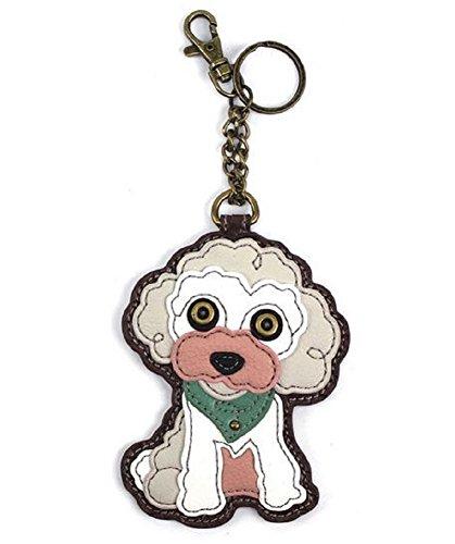 Chala Key Fob/Coin Purse - Poodle]()