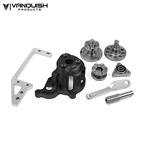 Shift Servo Mount (Vanquish Products Hurtz Dig V2 Black Anodized For Axial VPS01350)