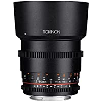 Rokinon Cine DS DS85M-C 85mm T1.5 AS IF UMC Full Frame Cine Lens for Canon EF