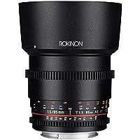 Rokinon Cine DS DS85M-C 85mm T1.5 AS IF UMC Full Frame Cine Lens for Canon EF