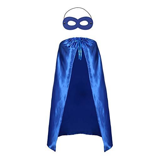 Adults Superhero Capes and Mask Set - Men