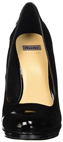 BATA 7216903 - zapatos de tacón de punta cerrada Mujer negro (negro)