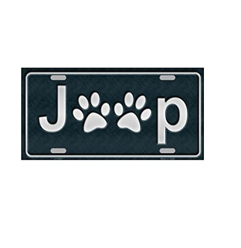 Jeep License Plate - 5