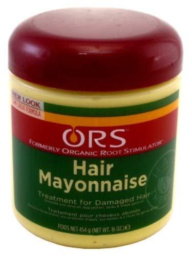 Ors Hair Mayonnaise Treatment 16oz Jar (2 (Mayonnaise Hair Conditioner)
