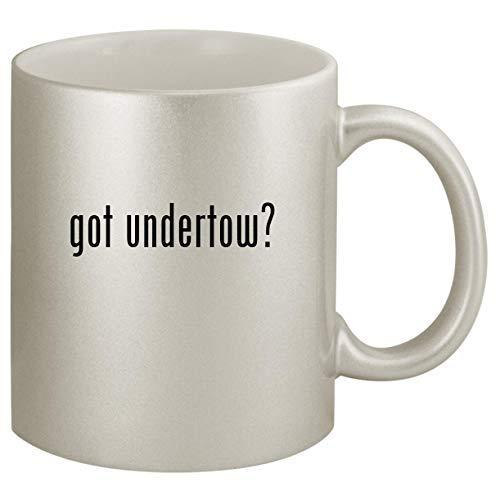 got undertow? - Ceramic 11oz Silver Coffee Mug, Silver