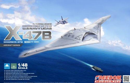 Freedom Model Kits 1/48 U.S NAVY UCAS X-47B FD-18001