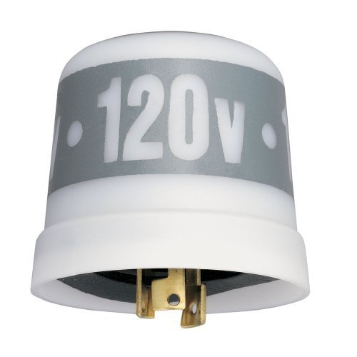 Intermatic LC4523LA 208-277-VAC Thermal Photocontrols with Low Cost Locking Type Mounting