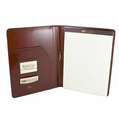 Bosca Old Leather 8.5'' x 11'' Pad Cover in Coganc