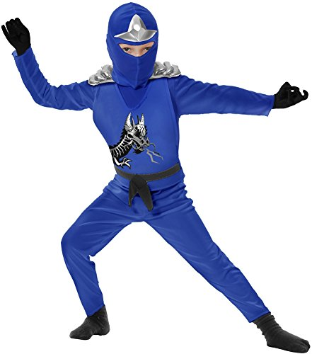 (Charades Boys' Ninja Avenger Series Li Costume Medium)