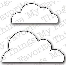 My Favorite Things Die-Namics Die, Flat Bottom Clouds, 2 x 1.75-Inch