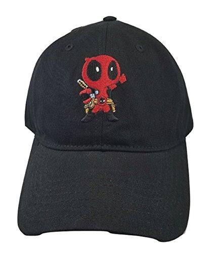 Loot Crate Kawaii Baby Deadpool Dad Hat]()