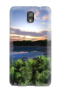 Awesome Design Pebble Beach Tropical Digital Hard Case Cover For Galaxy Note 3