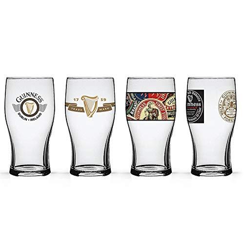 Guinness Beer Tulip Pub Pint Glasses (4 pc ()