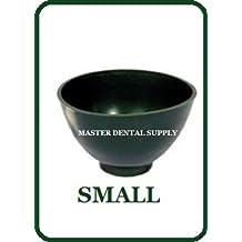 Dental Lab Mixing Bowl Flexible Alginate and Stone SMALL Dark Green Flexi