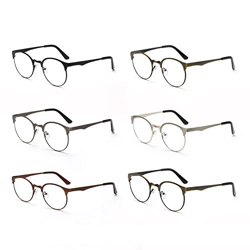 conception de simple mode de de lentille lunettes métal Bronze Delaying bleus anti sans frontière force verres de Armature de Verres en de conception de R1qCwA
