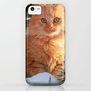 Society6 - Winter Garfield iPhone & iPod Case by Lucie