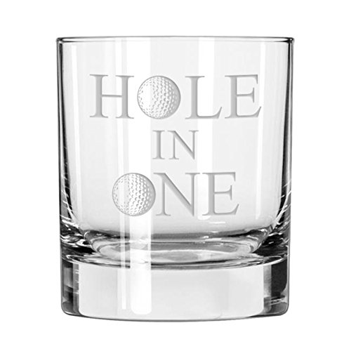 Hole in One Golf Whiskey Glass -