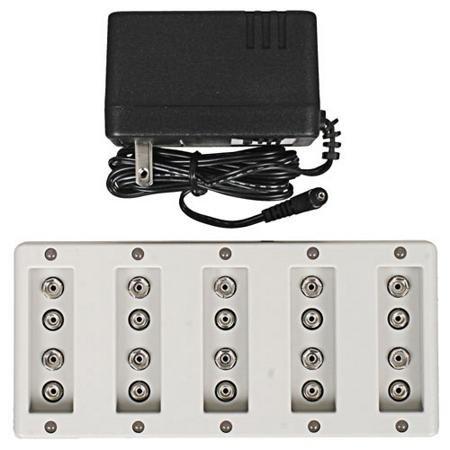 Maha PowerEx MH-C1090F Pro Ten Bank 9 V Rapid Charger