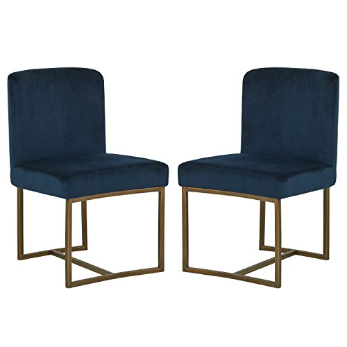 Rivet Eastern Modern Dining Chair, 32.4