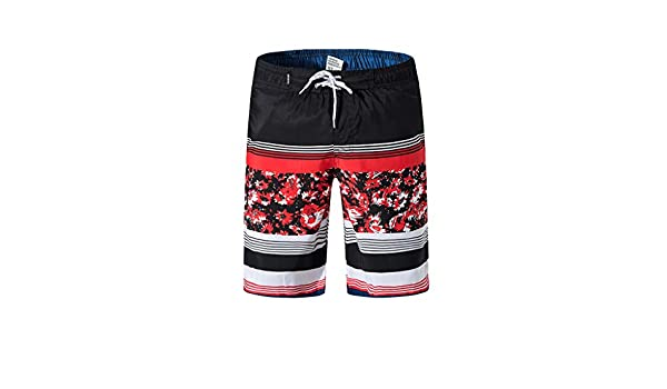 Huaa Men Spring Summer Trunks Quick Dry Beach Surfing Running Swimming Short Pant