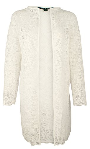 Lauren Ralph Lauren Women's Lace Open-Front Jacket-W-L by RALPH LAUREN