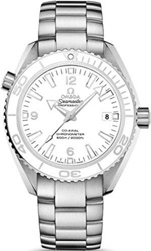 Omega Men's 23230422104001 Analog Display Swiss Automatic White Watch