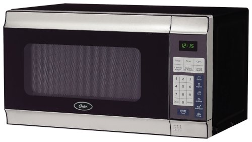Oster Microwave – Stainless Steel, Small Countertop Microwave